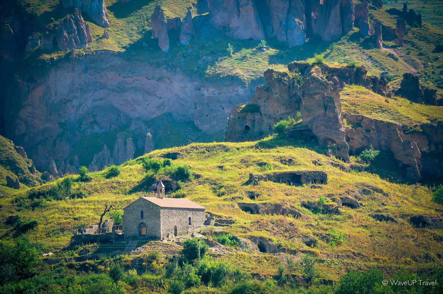 Old settlement of Goris - one of 7 most secret tourist spots in Armenia and one of the most beautiful Armenia sights