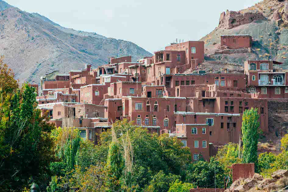 Iran cities: top to visit - Abyaneh