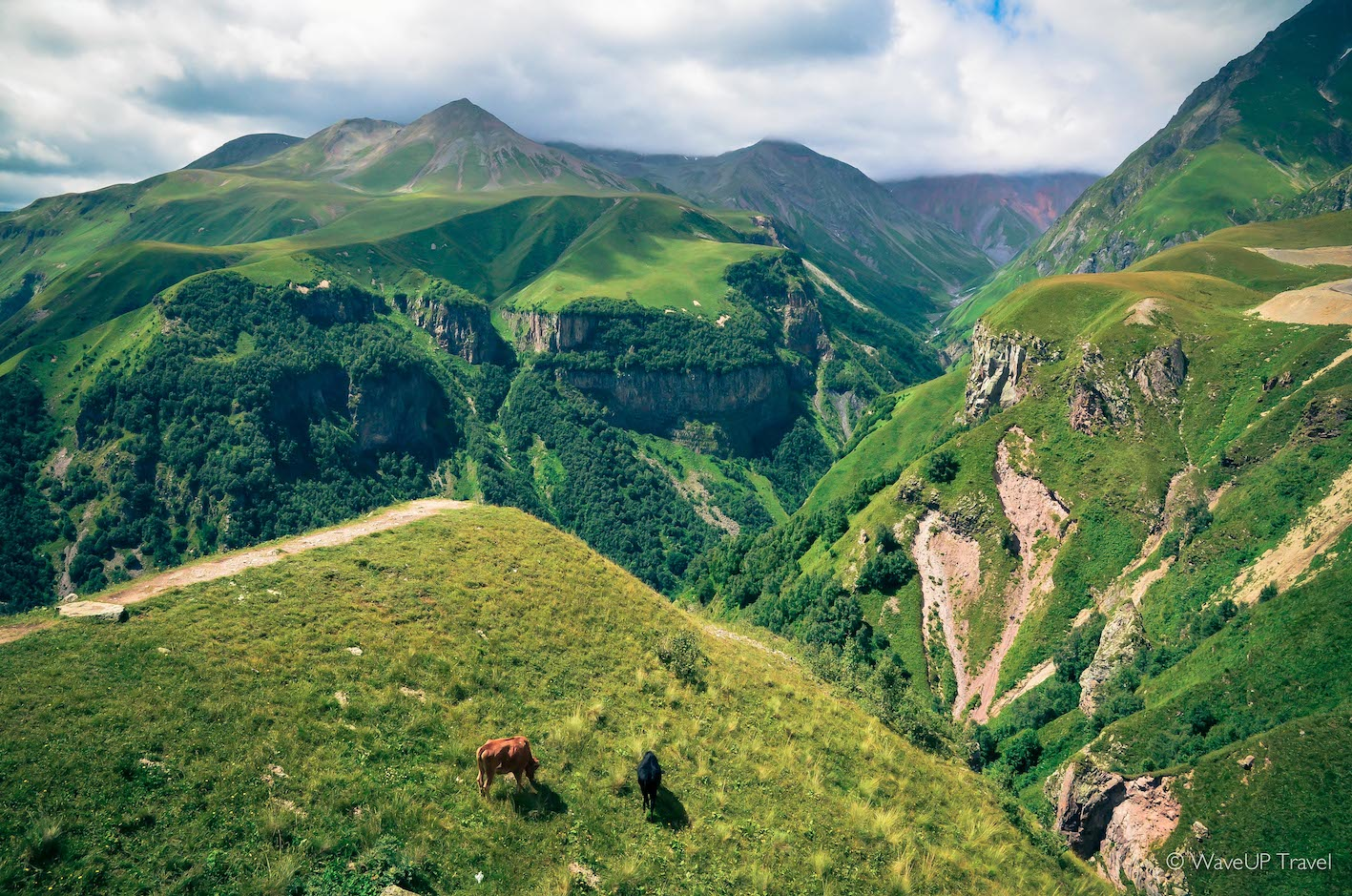 Georgia tours: Georgian military highway,  one of the top reasons to visit now