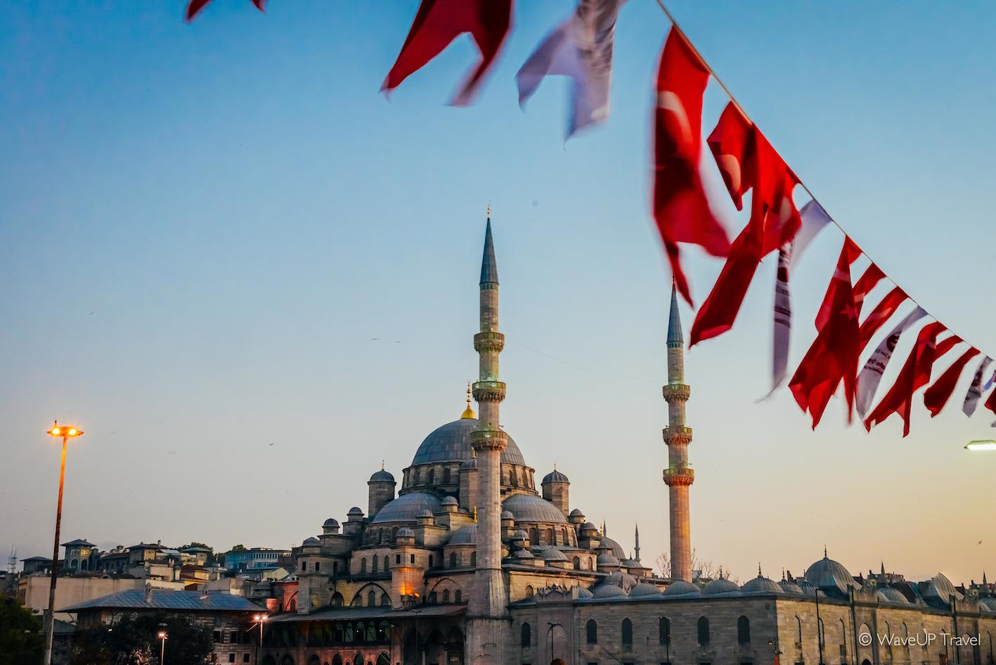 Istanbul sights: new mosque