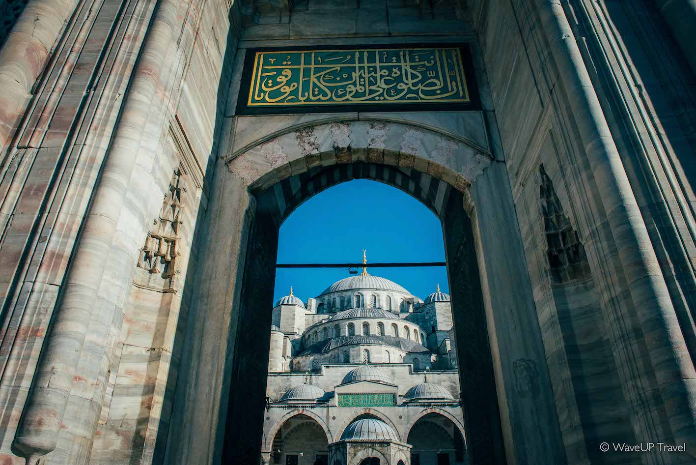 Istanbul sights: blue mosque
