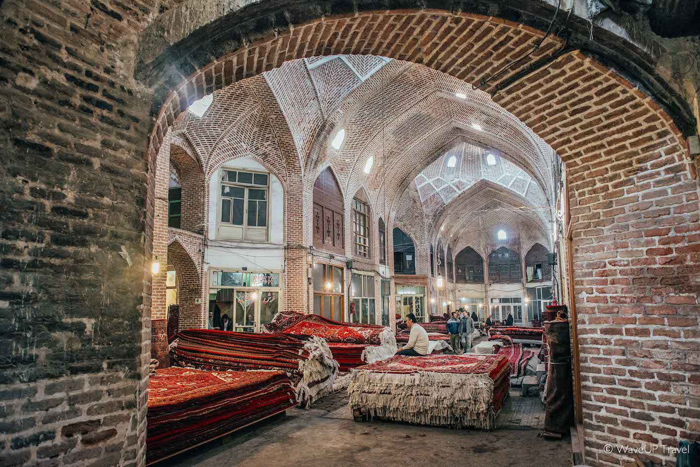 A must-see on Iran tour: carpet markets