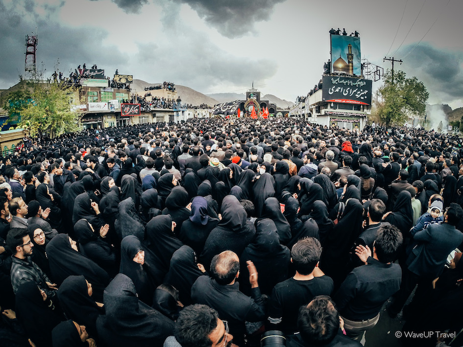 Iran photos holidays: Ashura